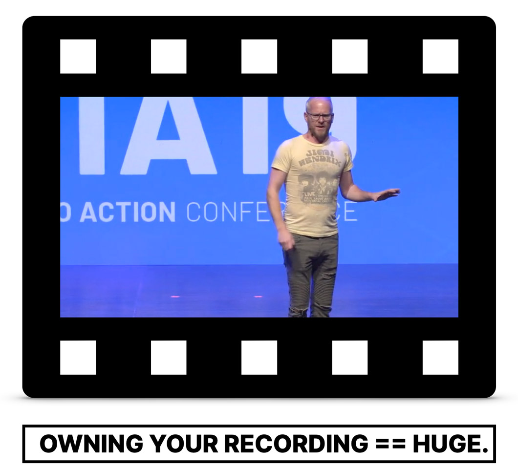Be the Keynote audio and video setup for Zoom Recordings